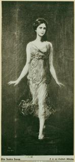 Isadora Duncan nel 1902