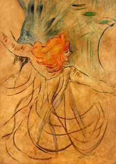 Loie Fuller ritratta da Toulouse-Lautrec